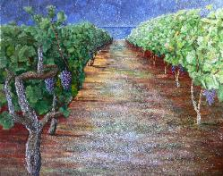 Lake Ontario Vinyard - Van Klei Commission for wine cellar Toronto,  Harbour Gallery